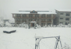 Solang Ski Resort in Winter